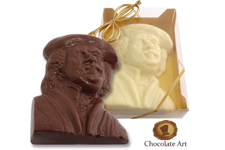 Chocolade Borstbeeld - Rembrandt van Rijn - Choco-Paradijs