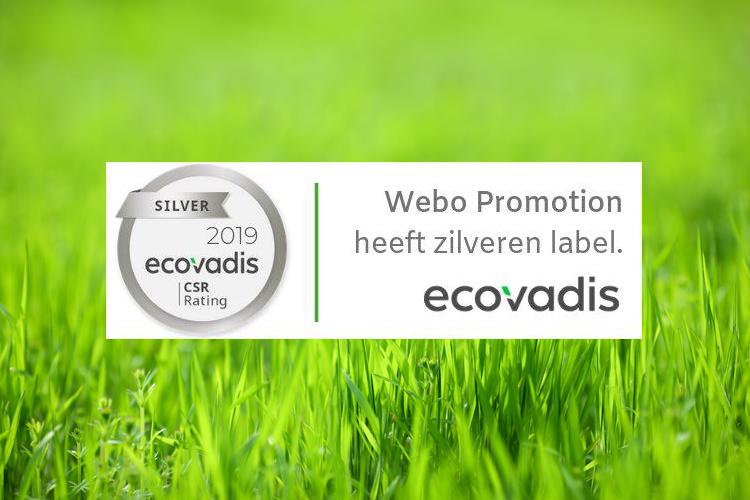 Zilver voor Webo Promotion EcoVadis