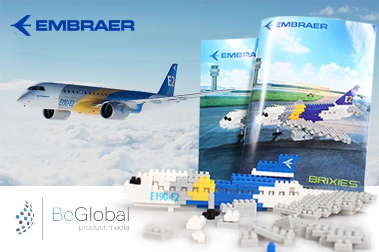 Embraer replica vliegtuig - BeGlobal