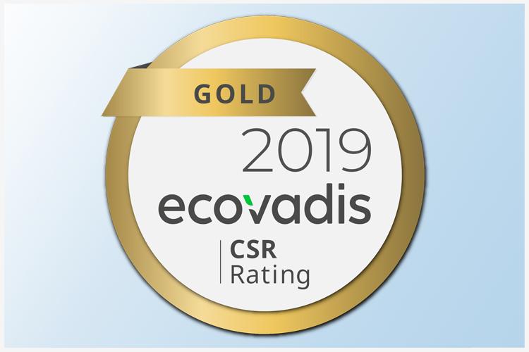 EcoVadis Gold voor Het Portaal Uitgevers