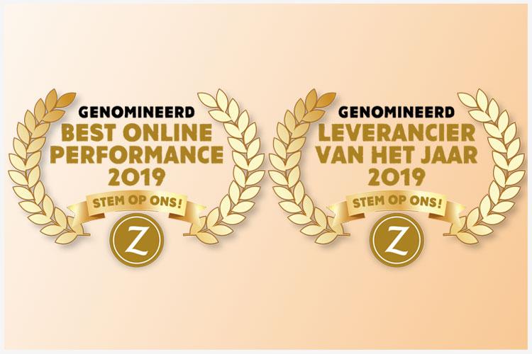Nominaties Leveranciers of the Year 2019