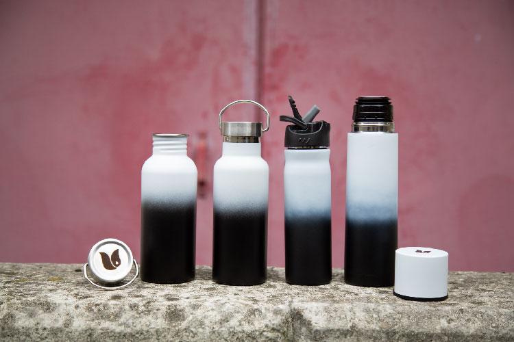 Retulp Fusion duurzame RVS drinkflessen