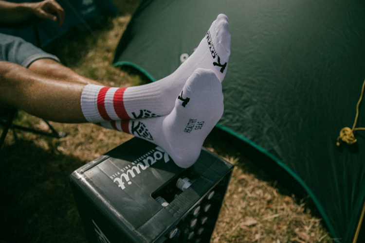 Kornuit sokken