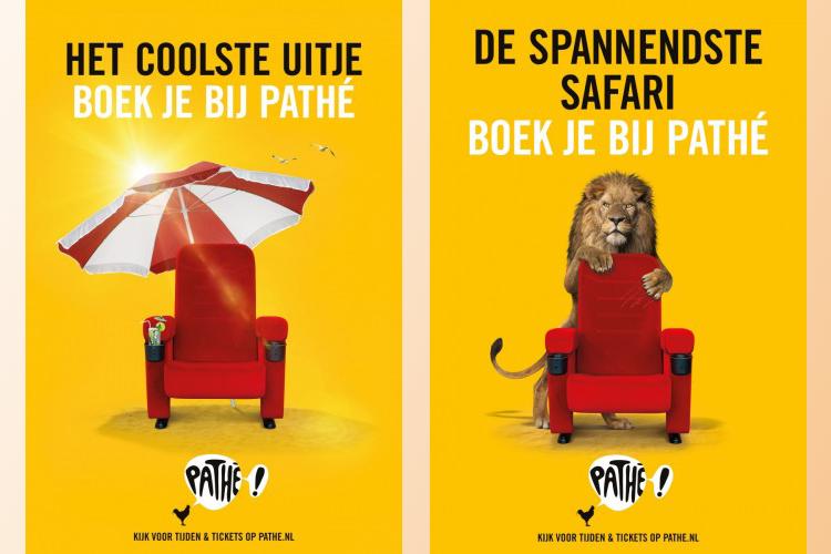 De zomercampagnes van Pathé