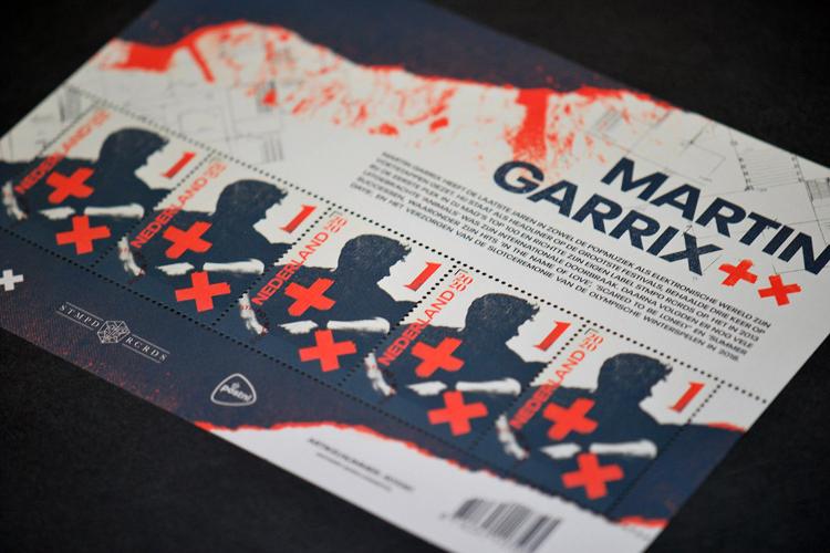 Een postzegel waar muziek in zit Martin Garrix