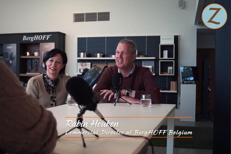 PromZ.TV was op bezoek bij Berghoff in België met Rabin Houben