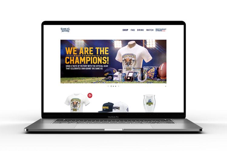 Super Bowl commercial van brouwerij Sam Adams schrijft geschiedenis