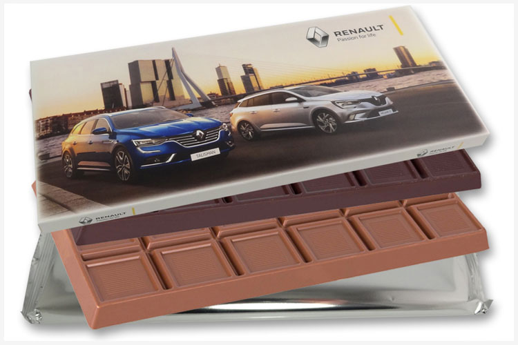 Een (h)eerlijke grote chocoladereep 400gram