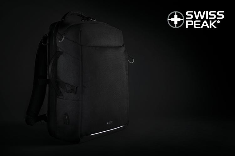 Swiss Peak XXL business & travel backpack P76239 Xindao