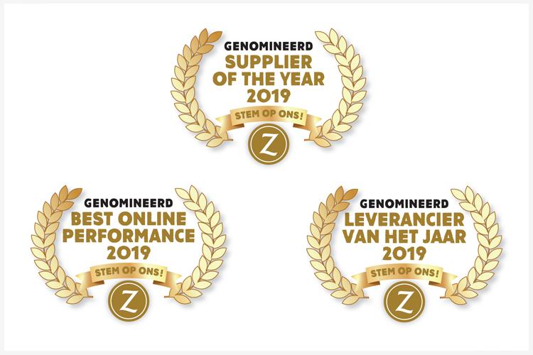 Nominaties Suppliers en Leveranciers of the Year 2019