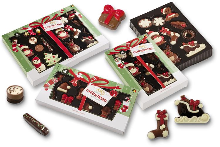 Choco-paradijs - Collectie Ickx Christmas - Belgian Chocolates