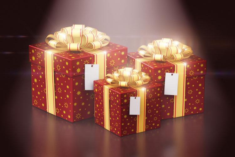 De schijnwerper op kerstpakketten 2019