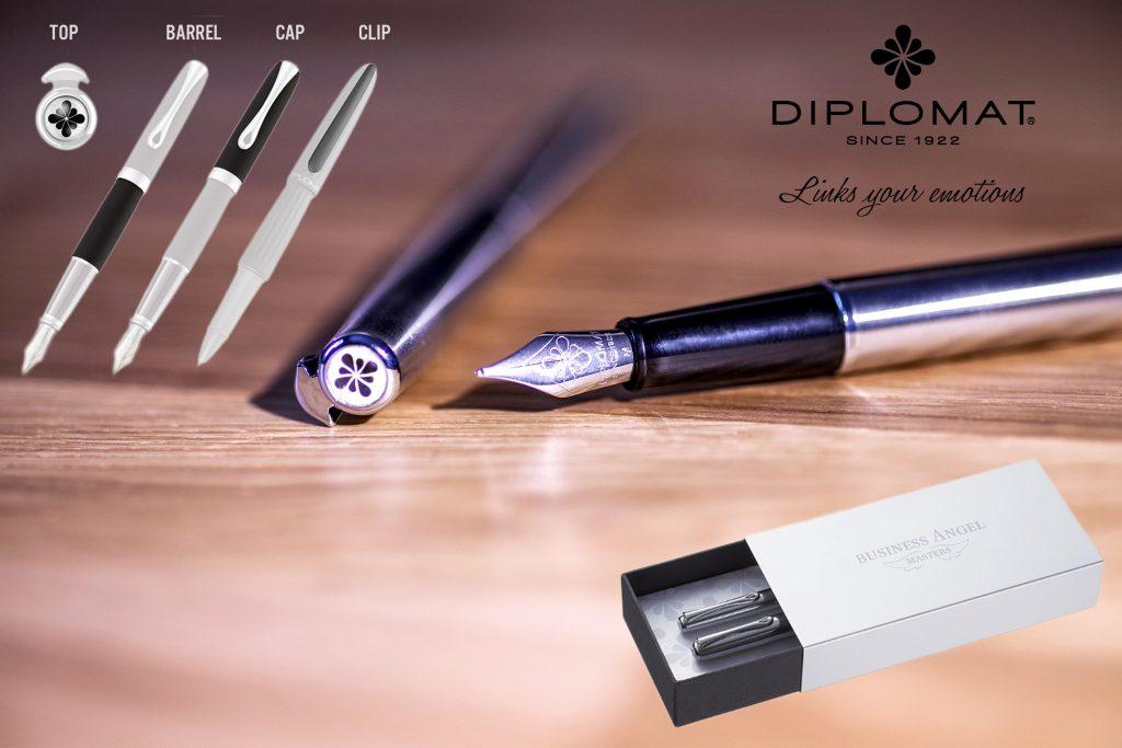 Diplomat schrijfwaren. Link your emotions