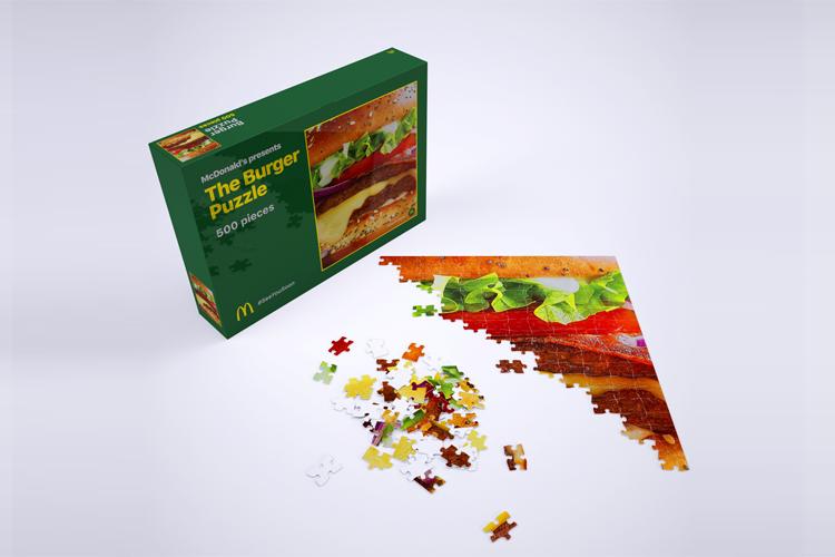 McDonald's komt met Burger Puzzle