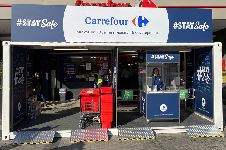 Carrefour safetycube