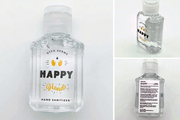 Handgel Extra Hygiëne alcohol 60 ml