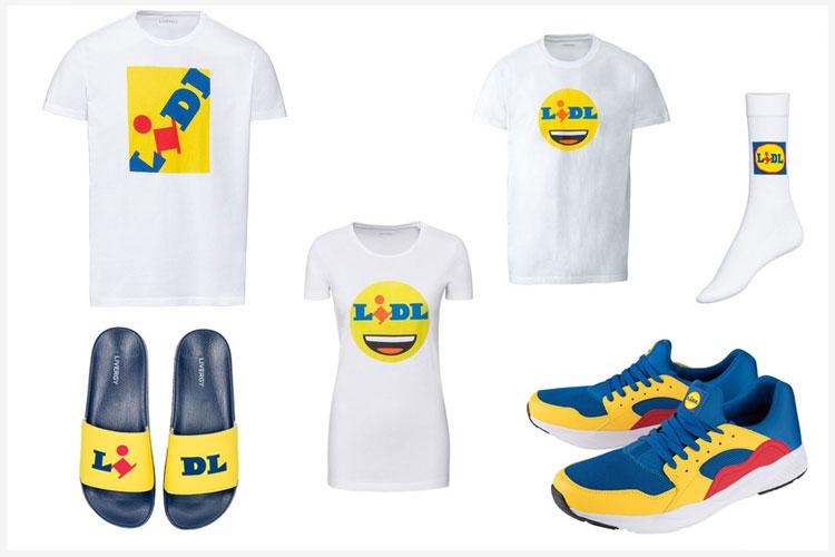Lidl-kleding: consument niet vies van logo's